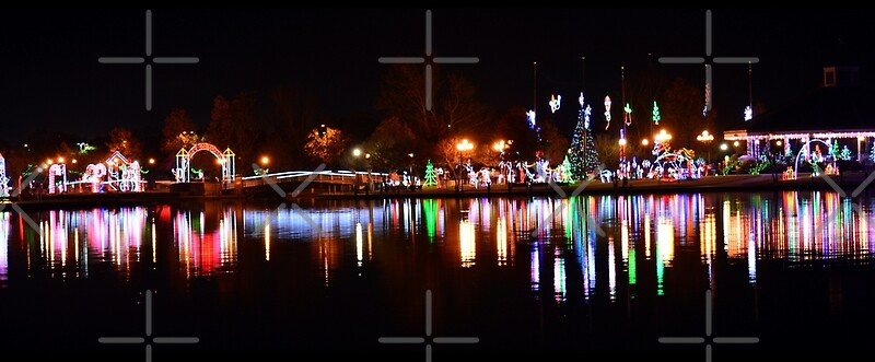 christmas lights in lafreniere park by studioblack - Lafreniere Park Christmas Lights