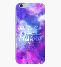 Born to Make History Watercolor iPhone Case