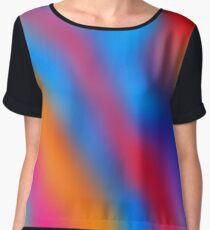 Acid blur Women's Chiffon Top