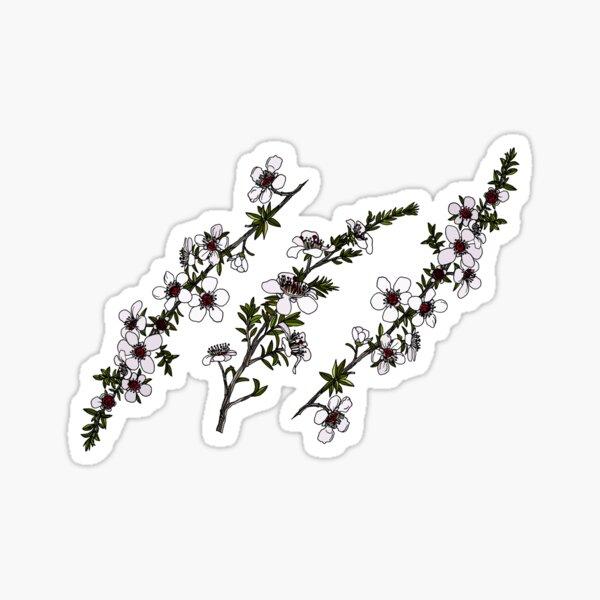 Manuka on white Sticker