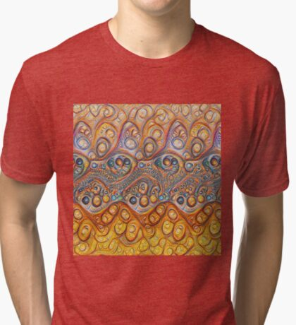 Sand waves #DeepDream #Art Tri-blend T-Shirt