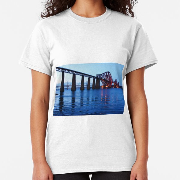 Forth Rail Bridge at Dusk Classic T-Shirt