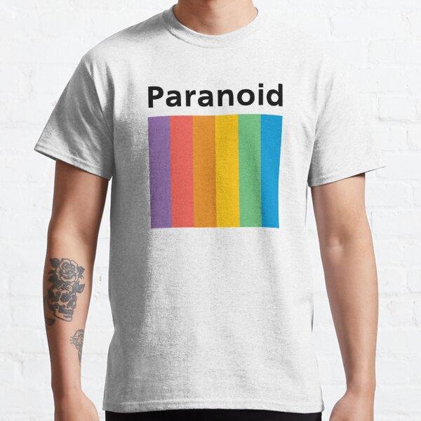 Paranoid (Polaroid Inspired) Classic T-Shirt