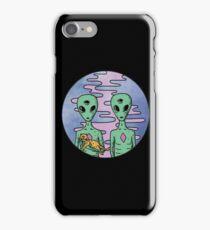 Alien Friends iPhone Case/Skin