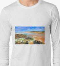 golden sand. praia do guincho Long Sleeve T-Shirt
