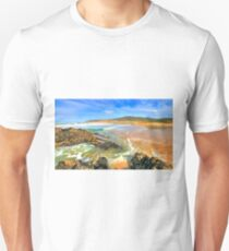 golden sand. praia do guincho Unisex T-Shirt
