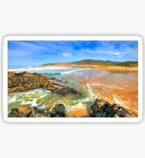 golden sand. praia do guincho Sticker