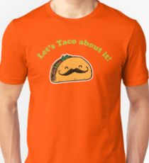 Taco - Let's taco about it! - Vintage Retro style T-Shirt