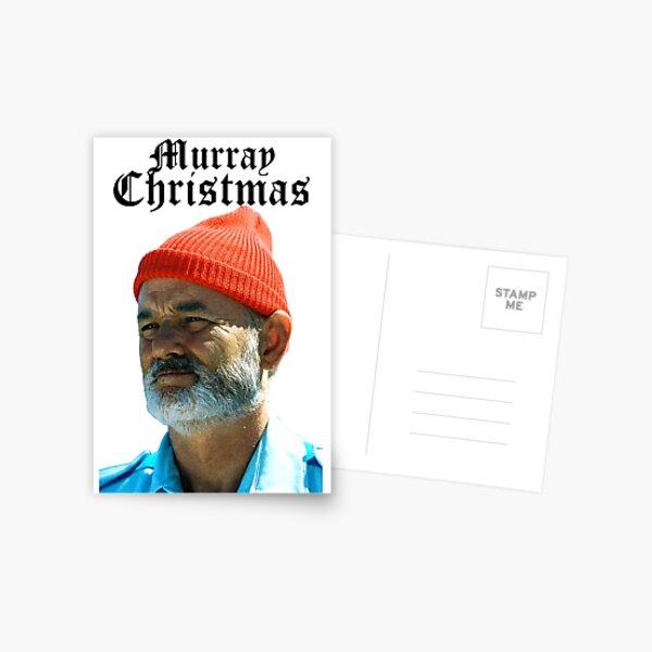 Murray Christmas - Bill Murray  Postcard