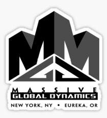 Massive Global Dynamics Sticker