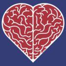 Lovely heart shaped brain by Zoo-co