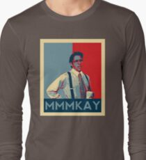 Bill Lumbergh Quote Mmmkay Funny Office Space Long Sleeve T Shirt
