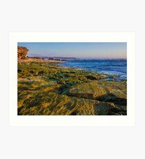 Gunnamatta Surf Beach, Mornington Peninsula, Victoria, Australia Art Print