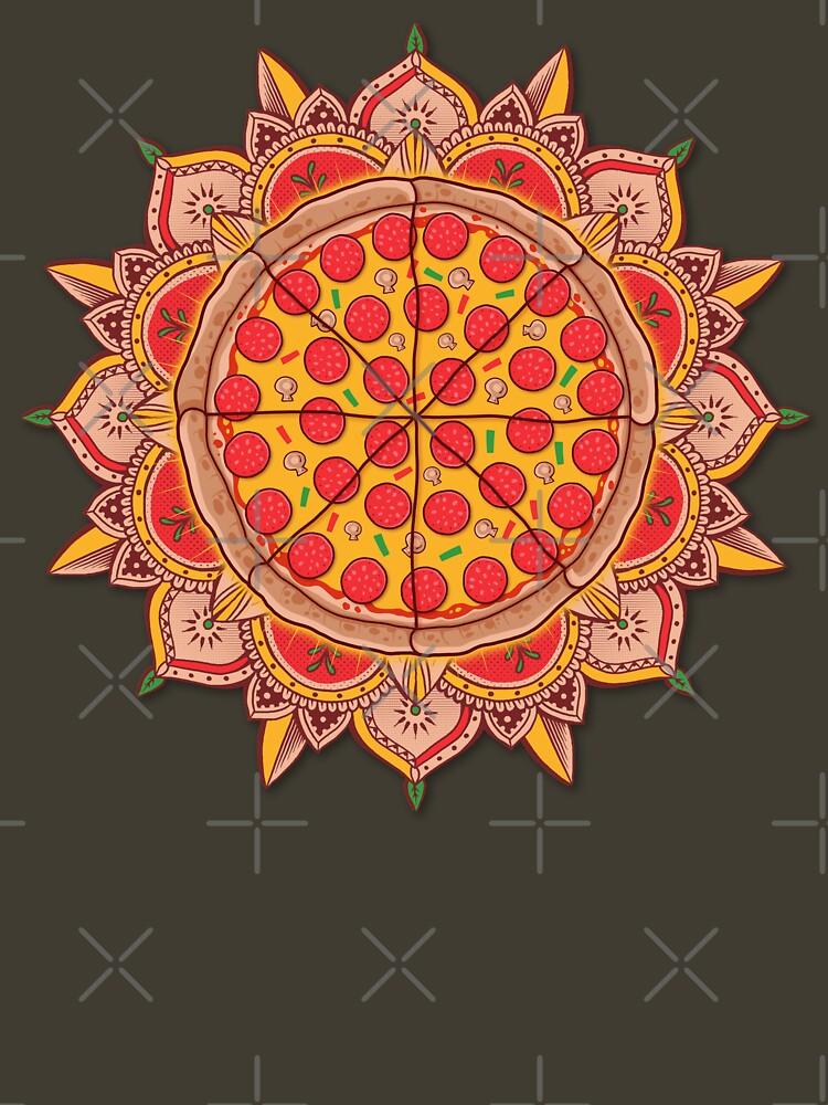 Sacred Pizza by GODZILLARGE