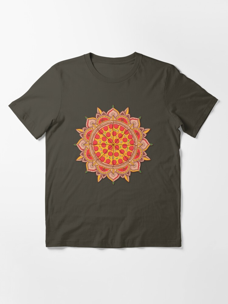 Alternate view of Sacred Pizza Essential T-Shirt