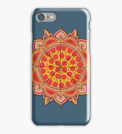 Sacred Pizza iPhone Case/Skin