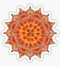 Sacred Pizza Sticker