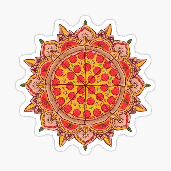 Sacred Pizza Sticker