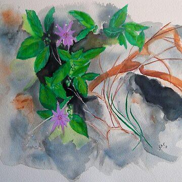 Watercolour1 by GloriaDK