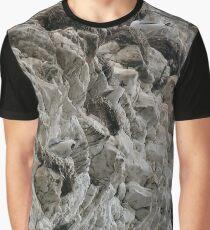 Chalk cliffs and....Seagulls at Flamborough UK Graphic T-Shirt