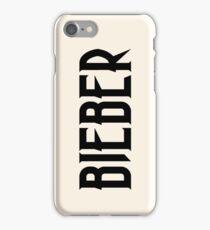 BIEBER iPhone Case/Skin