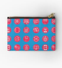 Internet Banking Icons Set in flat style Studio Pouch