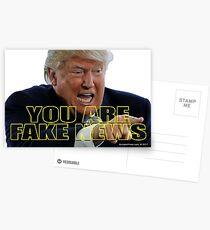 You Are Fake News Postcards