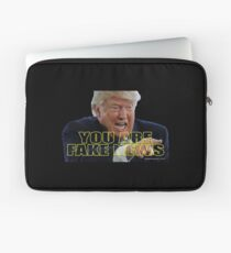 You Are Fake News Laptop Sleeve