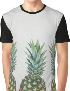 Pineapple Trio T-shirt Graphique
