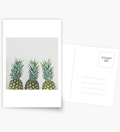Pineapple Trio Greeting Card