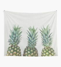 Pineapple Trio Wall Tapestry