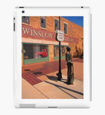 Standing on the Corner Glen Frey Tribute  iPad Case/Skin