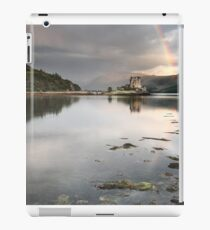 Eilean Donan Castle With Rainbow iPad Case/Skin