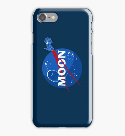 That's no Moon... iPhone Case/Skin