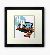 HP Framed Print