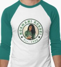 NORMANI KORDEI FROM FIFTH HARMONY CIRCLE LOGO Men's Baseball ¾ T-Shirt