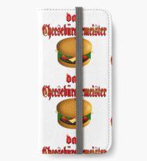das Cheesburgermeister iPhone Wallet/Case/Skin