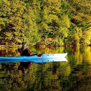 Cynthia Kayaking in Miror Lake by mussermd