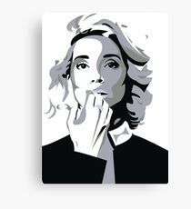 The Amazing Annie Clark Canvas Print