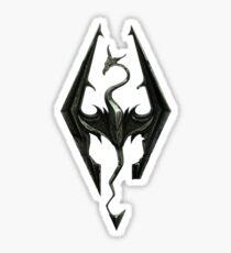 Skyrim icon Sticker