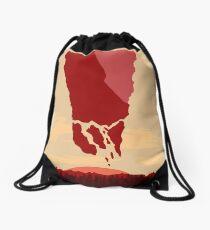 future landscape Drawstring Bag