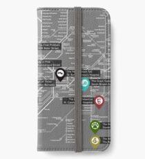Sherlock Tube Map (Dark) iPhone Wallet/Case/Skin