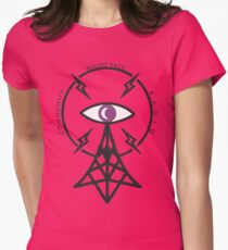 NIGHT VALE Womens Fitted T-Shirt