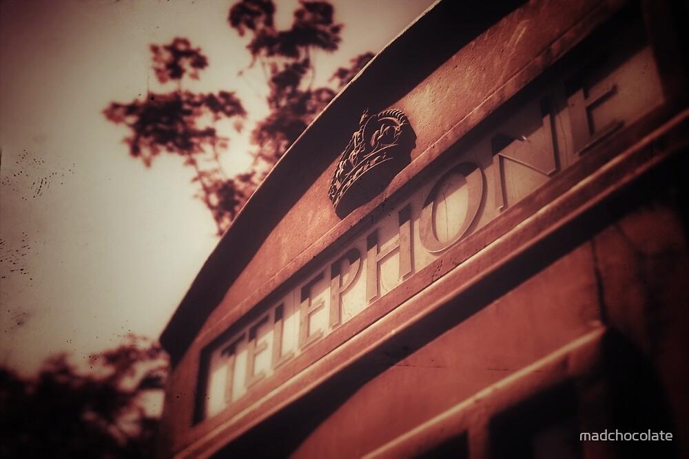 Vintage British Telephone Box by madchocolate