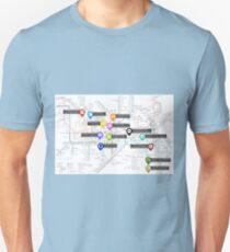 Sherlock Tube Map Unisex T-Shirt