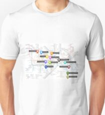 Sherlock Tube Map T-Shirt