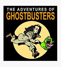 TinTin Ghostbusters Photographic Print