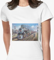 Penn Central pacific. Women's Fitted T-Shirt