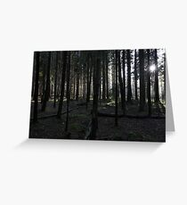 The Black Forest Greeting Card