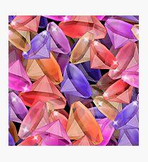 Placer precious stones gems .  Photographic Print